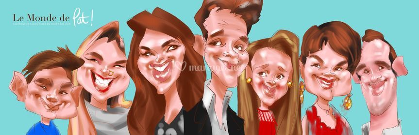 Caricature iPad couleurs !!!