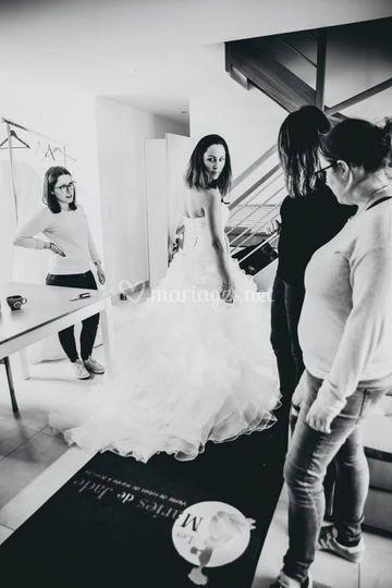 Essayage / future mariée