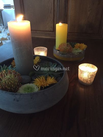 Assorti de bougies