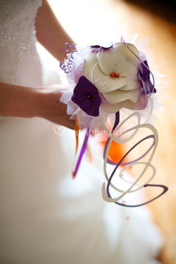 Bouquet en ballons tendus