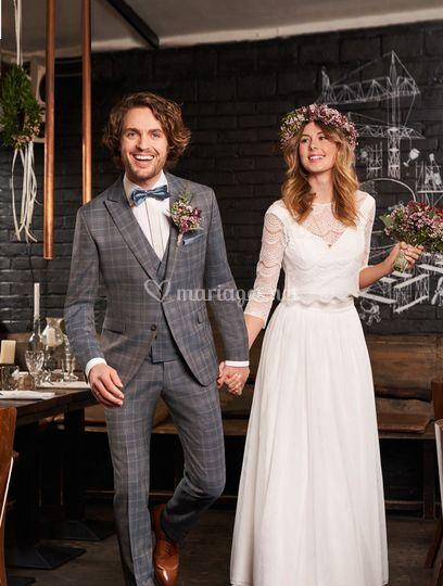 Costume WILVORST Green wedding