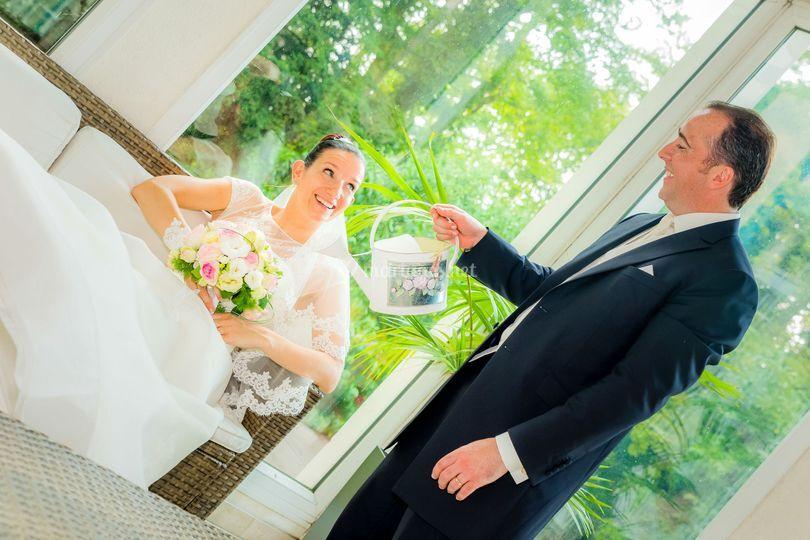 Photo mariage original