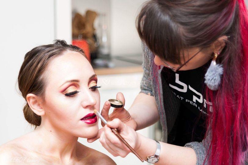 Maquillage artistique -  photo