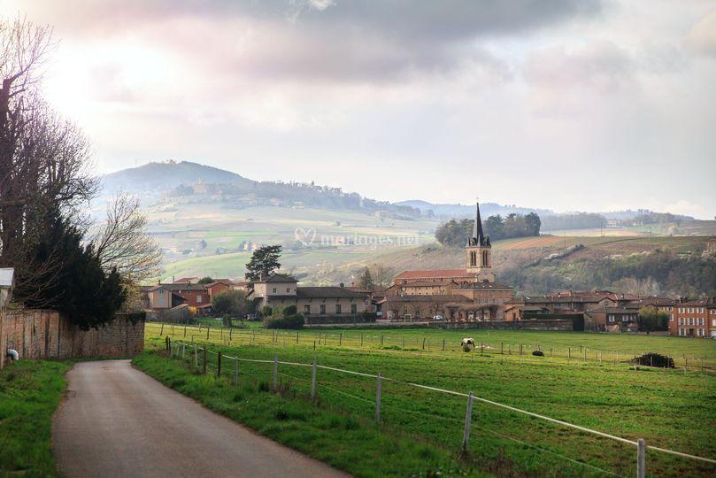 Vue du Domaine de Bénévent