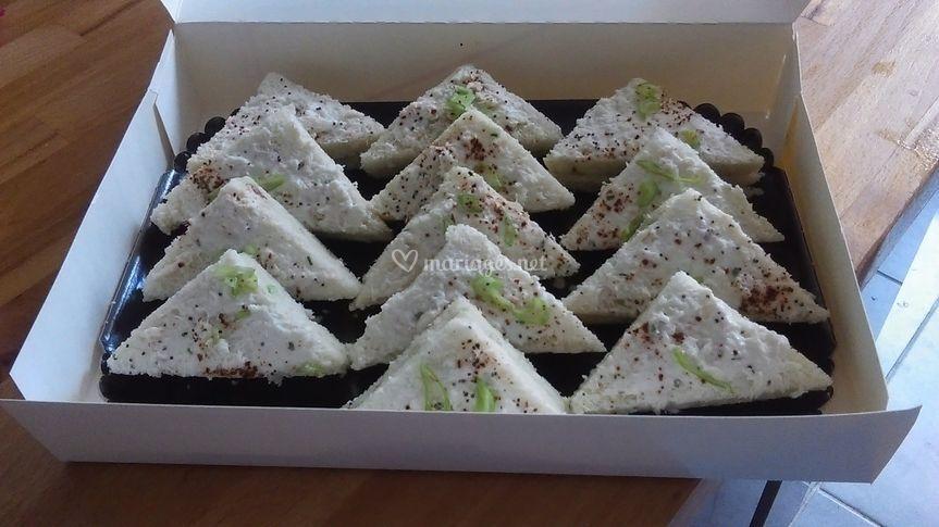 Triangulaire crabe guacamole