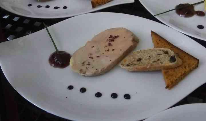 Foie gras de canard mi cuit
