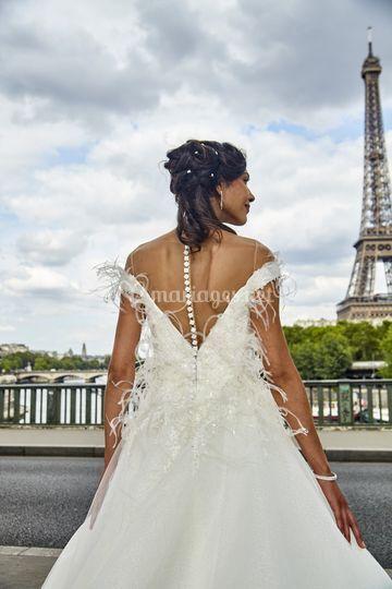 Chignon mariage 4