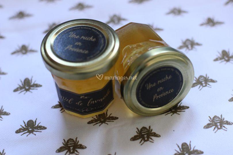 Petit pot de miel 50g Lavande
