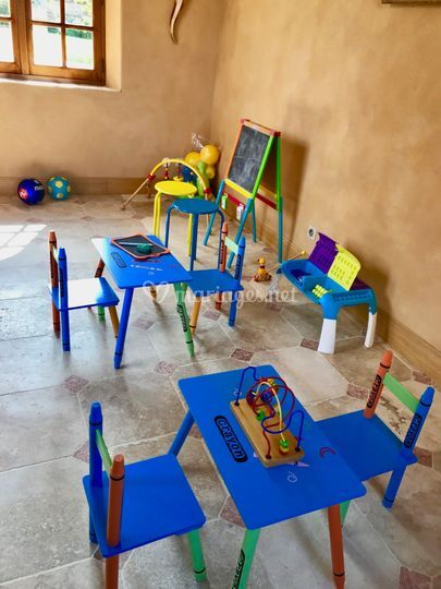 Salle aux enfants