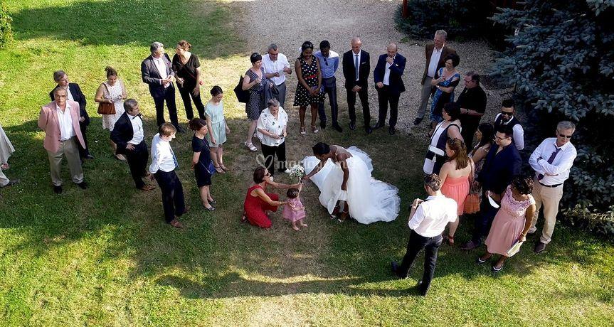 Mariage par drone
