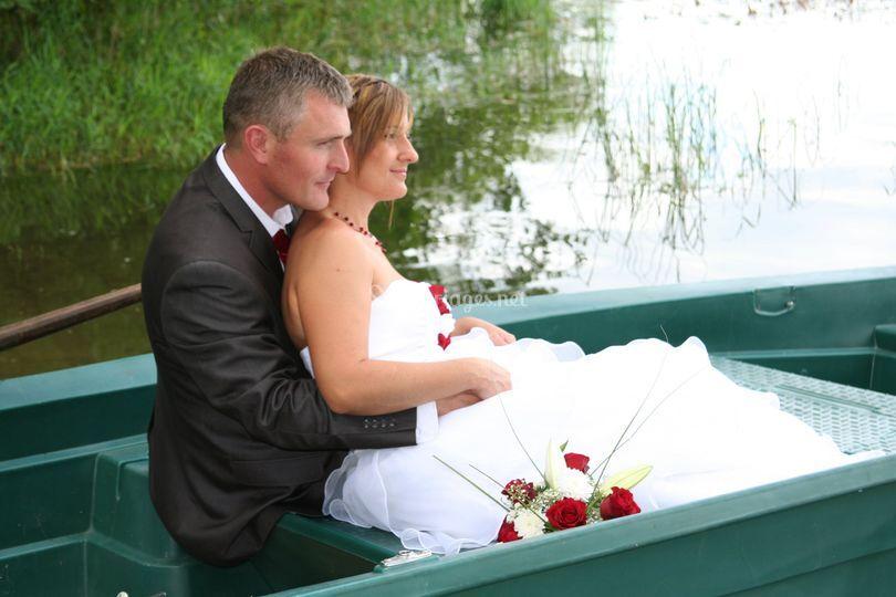 En barque