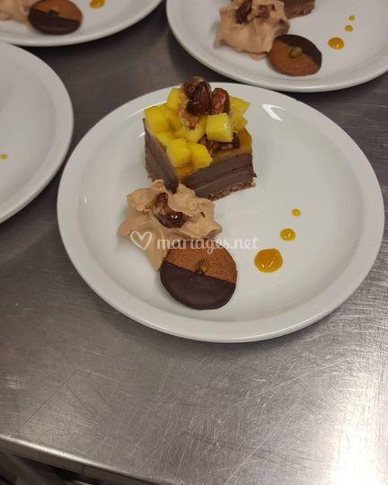 Crémeux chocolat/passion