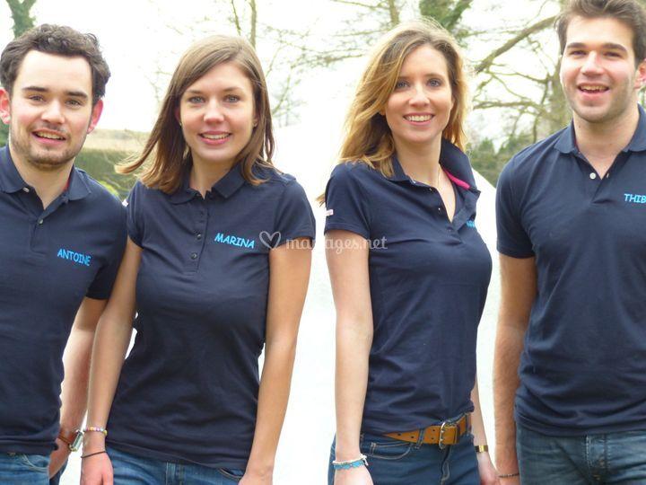 L'équipe d'Aquabulle