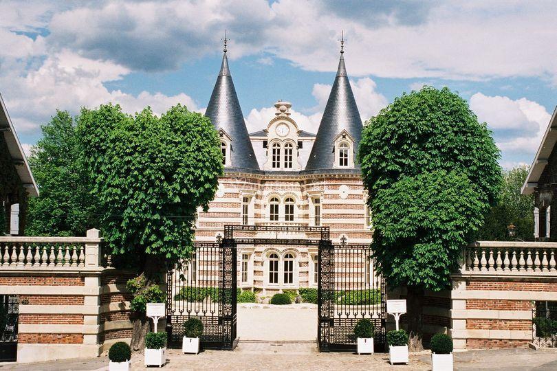 Entrée Château Comtesse Lafond