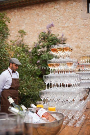 Bar du vin d'honneur