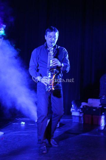 Ludo, claviériste saxophoniste