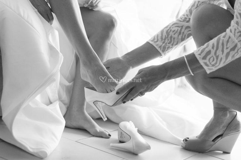Cendrillon et son soulier