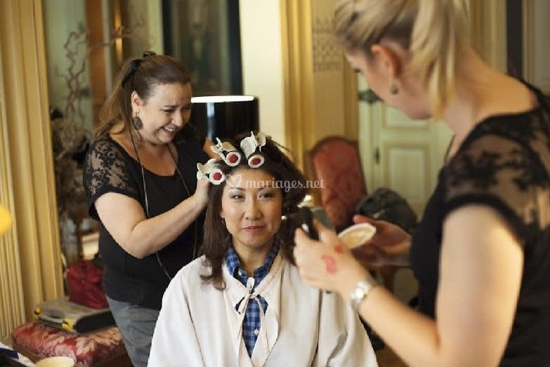 Maquillage princesse A.D