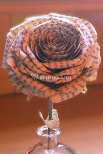 Rose à piquer bouquet