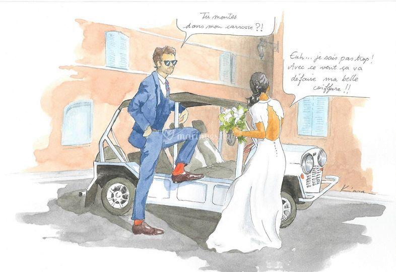 Mariage à St Tropez