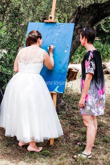 Peinture participative