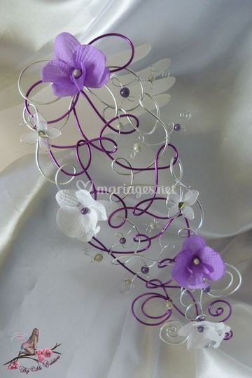 Bouquet cascade à tenir