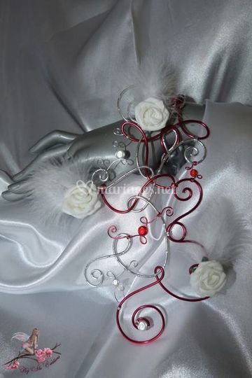 Bouquet cascade bracelet