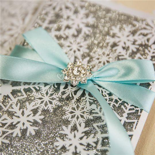 Mariage flocons de neige
