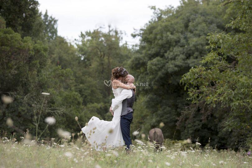 Les mariés, Jessica & Jérome