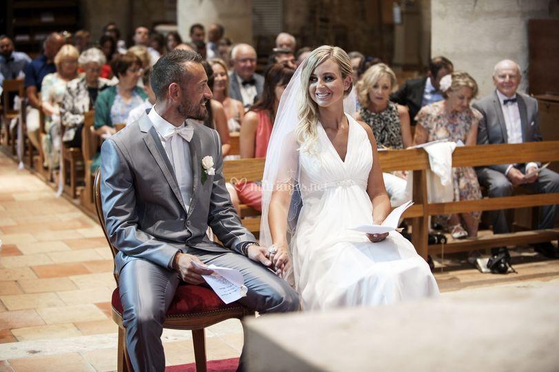 Les mariés Pat & Alicia