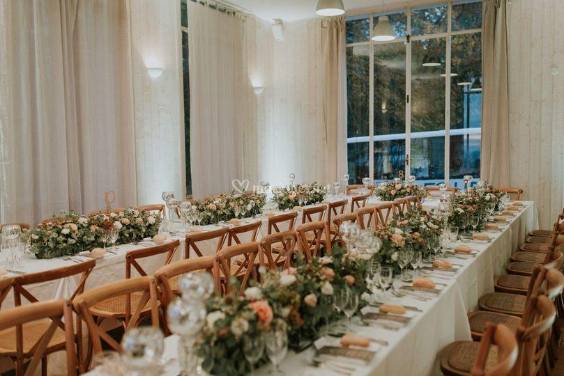 Table romantique et chic