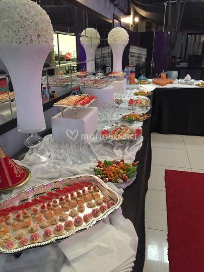 Kawtar traiteur - Decoration buffet traiteur ...