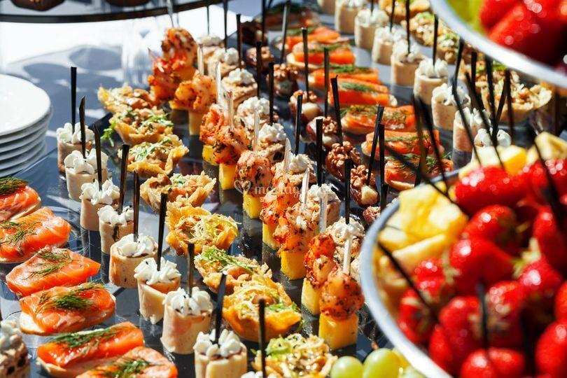 Large choix de buffets