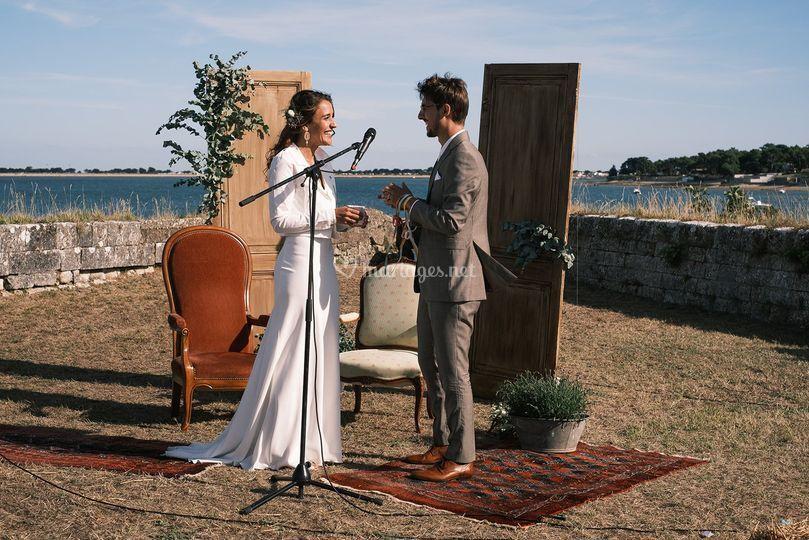 Mariage sur Ré...