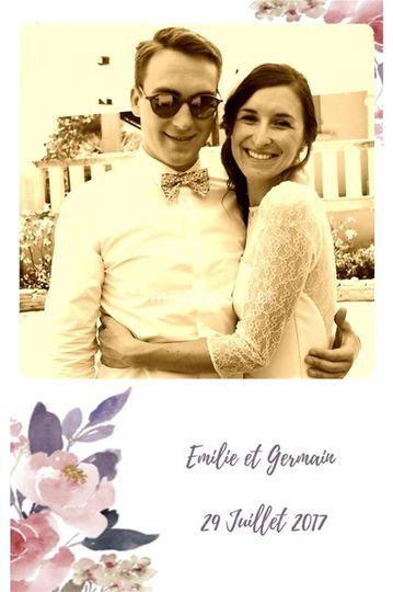 Emilie et Germain