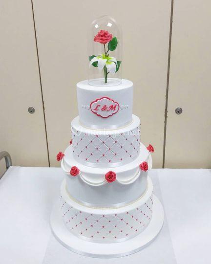 Wedding Cake 2018 - Eternel