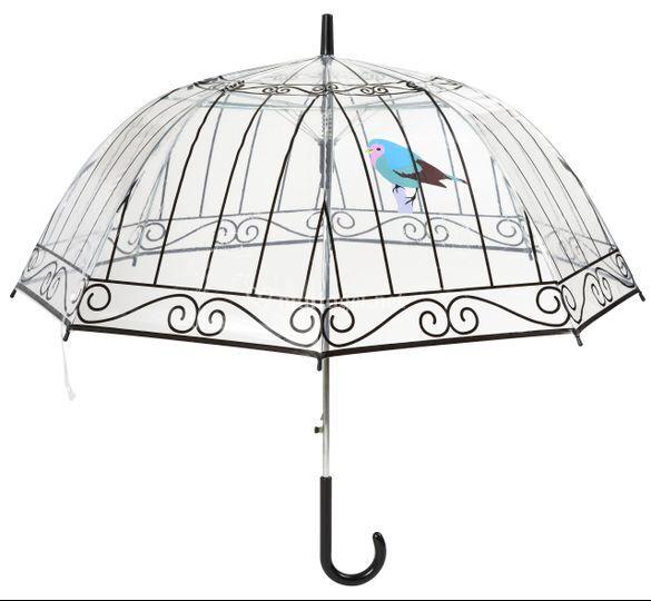 Parapluie cage oiseau