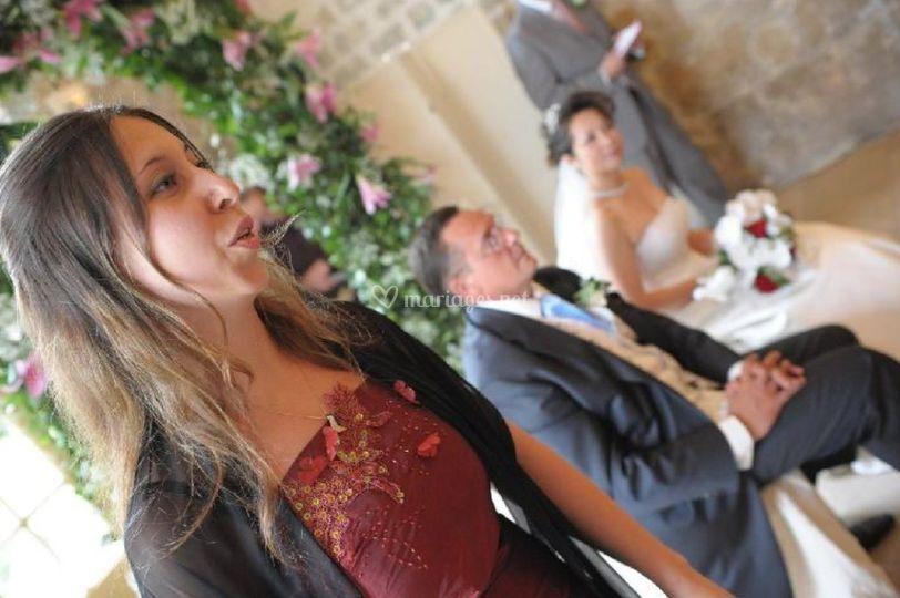 Mariage à l'Abbaye de Royaumon