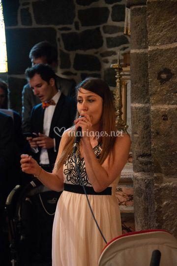 Chanteuse lyrique et gospel