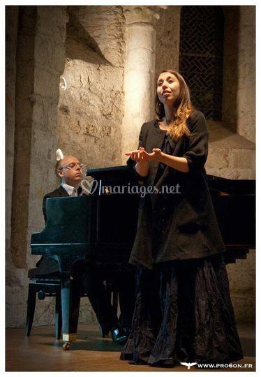 En récital lyrique à Grenoble