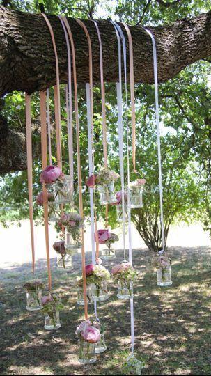 Décoration florale extérieur