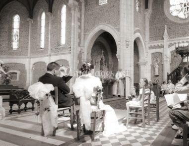 Lors de la cérémonie
