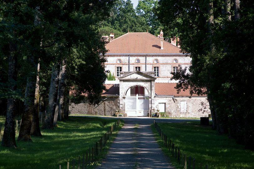Allée d'honneur du Château