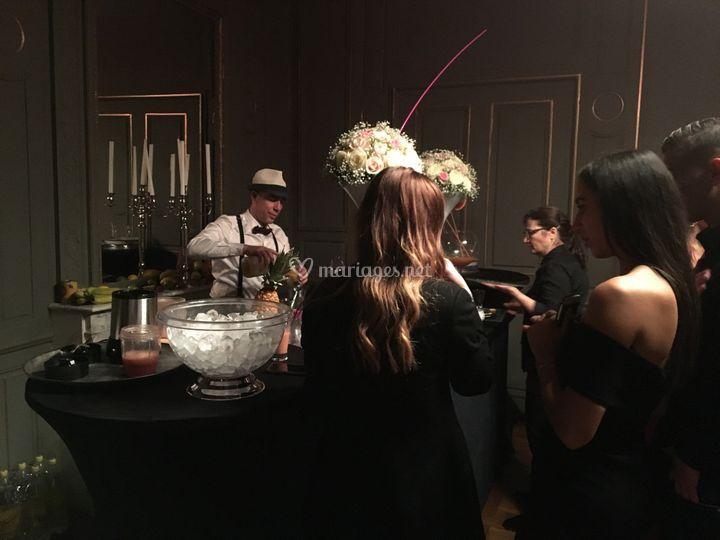 Barman cubain