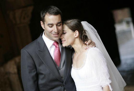 Embrasser les productions de la mariée est