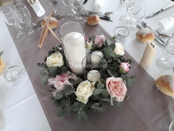 Centre table couronne