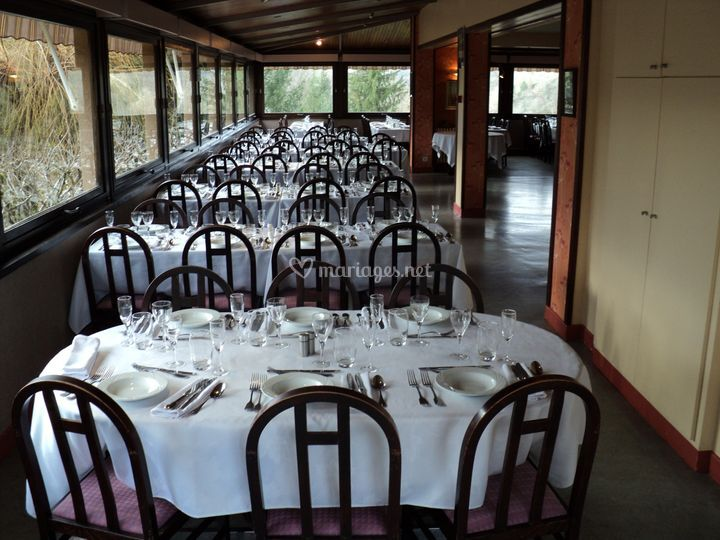 Salle de restaurant banquet