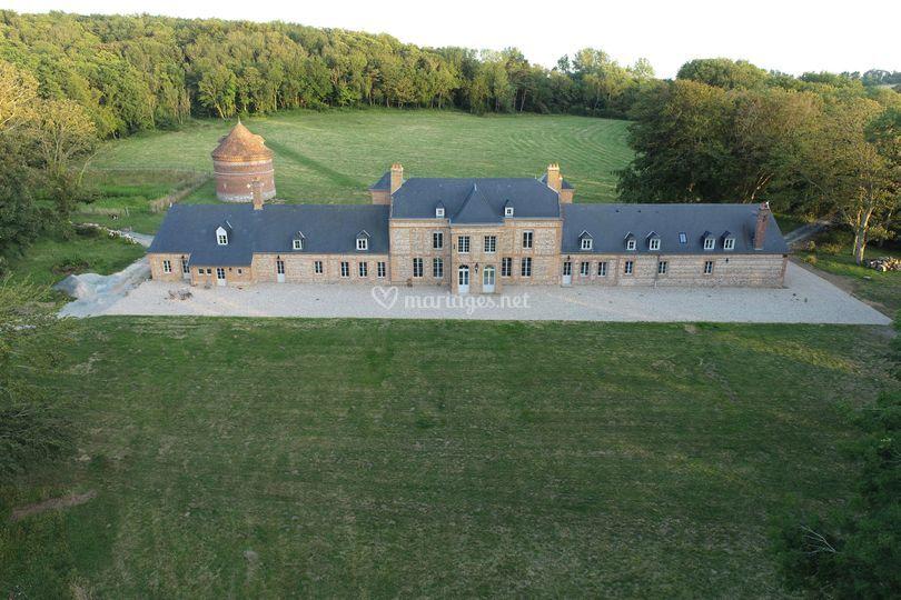 Château - Face Bois d'Ailly