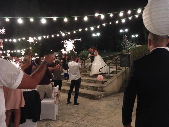 Les mariés en guingette