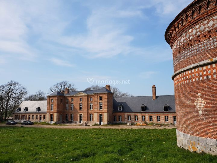 Château - Vue de coté